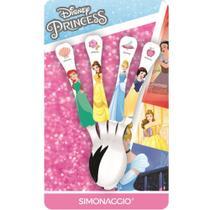 Faqueiro com 4 colheres - Princesas - Princess - Simonaggio