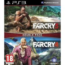 Far Cry 3 & 4 (Double Pack) - PS3 - Sony