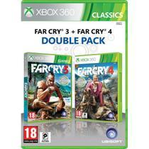 Far Cry 3 + Far Cry 4 Double Pack - Xbox 360 - Ubiosoft