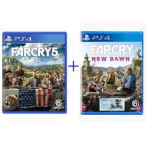 Far Cry 5 + Far Cry New Dawn - PS4 - Ubisoft