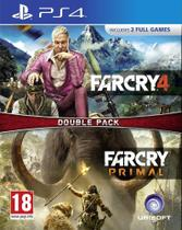 Far Cry Primal and Far Cry 4 (Double Pack) - PS4 - Sony