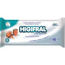 Fardo com 10 pacotes - Toalhas Higifral c/ 40 unidades cada -