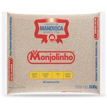 Farinha de Mandioca Branca Fina 500g - Monjolinho