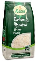 Farinha de Mandioca Branca Korin Orgânica pacote 500g -