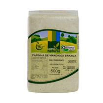 Farinha de Mandioca Branca Orgânica Coopernatural 500g -