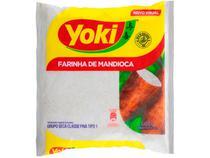 Farinha de Mandioca Crua Seca Yoki 500g -