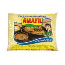 Farinha de Mandioca Ouro Grossa Amafil 1kg -