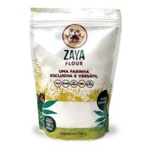Farinha De Mandioca Sem Glúten Zaya Flour 500g -