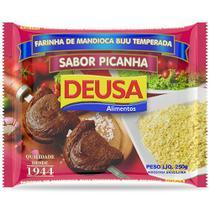 Farinha de Mandioca Temperada Biju Sabor Picanha 250g - Deusa
