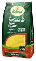 Farinha de Milho (Fubá) Korin Orgânica pacote 500g -