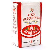 Farinha De Trigo Italiana 00 Le 5 Stagioni Napoletana 1kg -