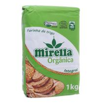 Farinha de Trigo Mirella 1kg Orgânica Integral -