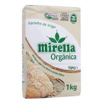 Farinha de Trigo Mirella 1kg Orgânica -