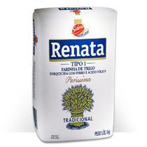 Farinha de Trigo Tradicional 1kg 1 Pacote Renata -