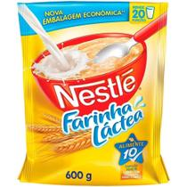 Farinha Láctea Tradicional Sachê 600g 9 un. - Nestlé -