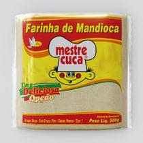 Farinha Mandioca Crua 500g 1 Pacote Mestre Cuca -