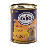 Faro Filhotes Carne Lata - 330G - Affinity