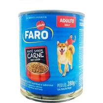 Faro Lata Adultos Carne - 280 Gr -