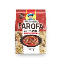 Farofa Artesanal Da Terrinha Apimentada 300 g - Da Terrinha Alimentos
