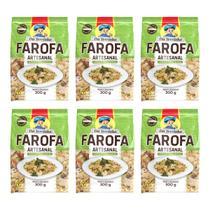 Farofa Artesanal Da Terrinha Vegetariana 300g - Da Terrinha Alimentos