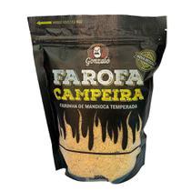 Farofa Campeira Rústica 200g Gonzalo -