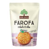 Farofa Cebola e Alho Orgânica Mãe Terra -