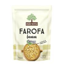 Farofa com Banana Orgânico 200g  - Mãe Terra -