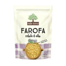 Farofa com Cebola e Alho Orgânico 200g  - Mãe Terra -