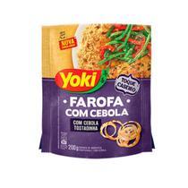 Farofa com Cebola Tostadinha Yoki 200g -