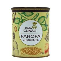 Farofa Crocante Casa Cunali 250g -