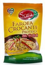Farofa Crocante Proteica Tempero Caseiro 300g - Sora -