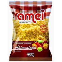 Farofa de Mandioca Sabor Apimentada 250g Premium - Promoção! - Amei