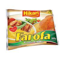Farofa de Milho 500g 1 Pacote Hikari -