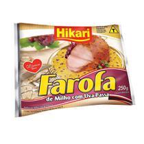 Farofa de Milho com Passas 250g 1 Pacote Hikari -