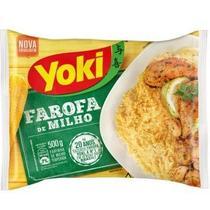 Farofa de Milho Temperada 500g 1 Pacote Yoki -