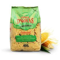 Farofa De Milho Tradicional 400g DGoias Super Premium - D'Goias