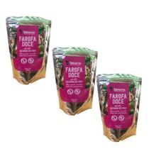 Farofa Func Doce com Castanha do Pará Sekiama 300g Kit com 3 - Sekiama Alimentos Da Amazônia
