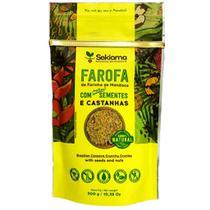 Farofa Funcional Com Sementes e Castanhas Sekiama 300g - Sekiama Alimentos Da Amazônia