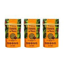 Farofa Funcional Com Sementes Sekiama 300g - KIT com 3 - Sekiama Alimentos Da Amazônia