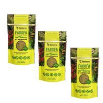 Farofa Funcional Sementes e Castanhas Sekiama 300g Kit c 3 - Sekiama Alimentos Da Amazônia