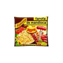 Farofa Mandioca Tradicional Zaeli 500g Pacote -