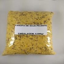 Farofa Natural de Soja Picante - Embalagem 0,500gr - Empório Girassol