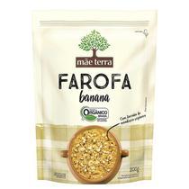 Farofa Orgânica Banana 200G Mãe Terra -