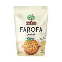 Farofa Orgânica Mãe Terra Banana 200g - Mae Terra