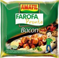 Farofa pronta bacon Amafil 250g -