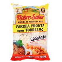 Farofa pronta com Torresmo - 1kg ( KIt com 4 pacotes 250g) - Nobre Sabor
