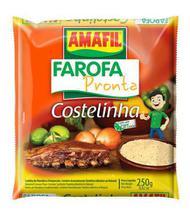 Farofa pronta costelinha Amafil 250g -