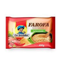 Farofa Pronta Da Terrinha Apimentada 400 g - Da Terrinha Alimentos