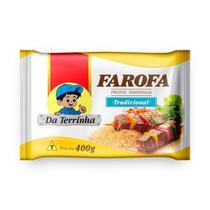 Farofa Pronta Da Terrinha Tradicional 400 g - Da Terrinha Alimentos
