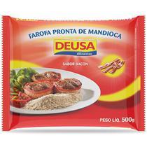 Farofa Pronta de Mandioca Sabor Bacon 500g - Deusa